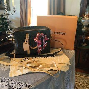 Louis Vuitton ICARE Satchel/Laptop Bag/Tote
